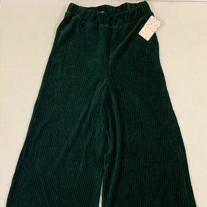 NWT Free People Medium Wide Leg high rise pants